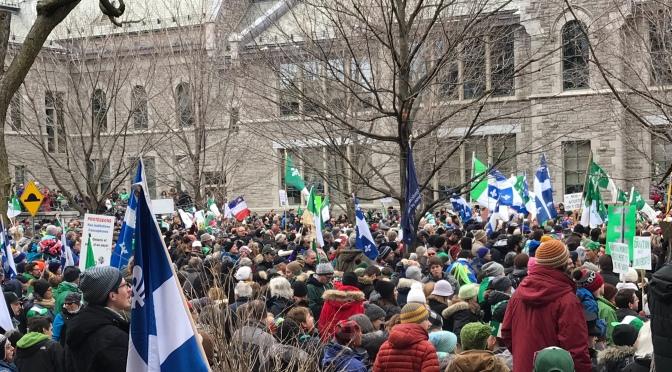 Le Québec, tu as … moi, en francophonie, j'ai…